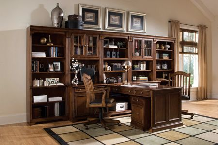 peninsula desk wall unit - in my dreams!! | for the home