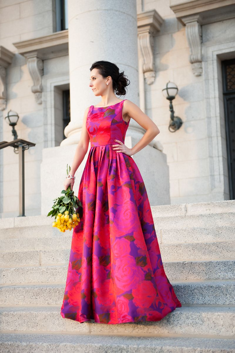 Valentine Dress, adrianna papell, red dress, floral dress | Adrianna ...