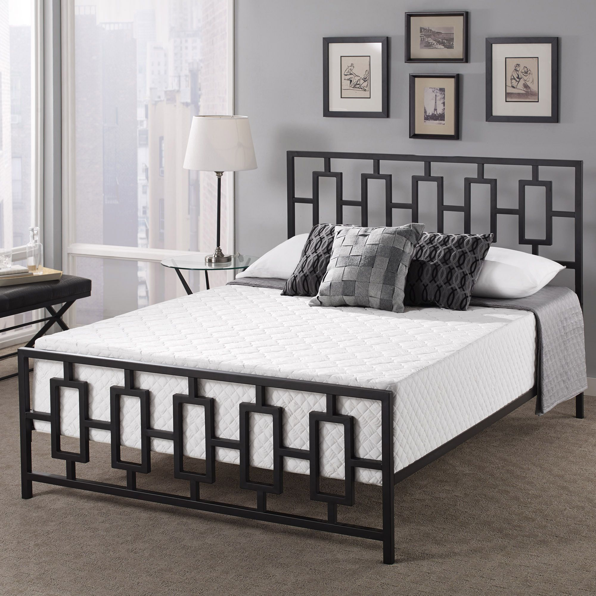 Touch Of Comfort Premium 14 Inch California King Size Memory Foam