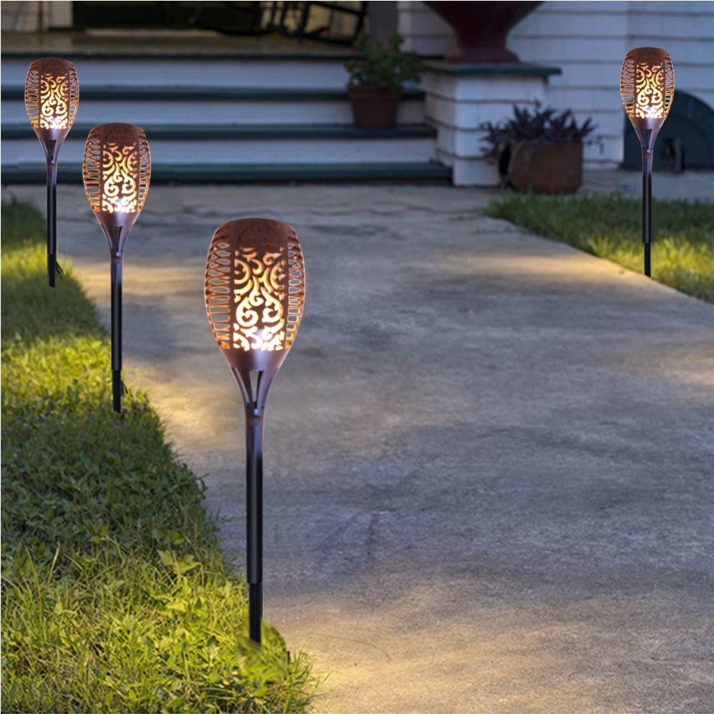 2W 96 LEDs Solar Lamps Outdoor Garden Landscape Lawn Light