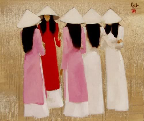 Nguyen Thanh Binh 1954 | Vietnamese Figurative painter I want to go back!