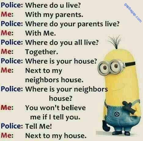 Funny Minions vs. Police Jokes…