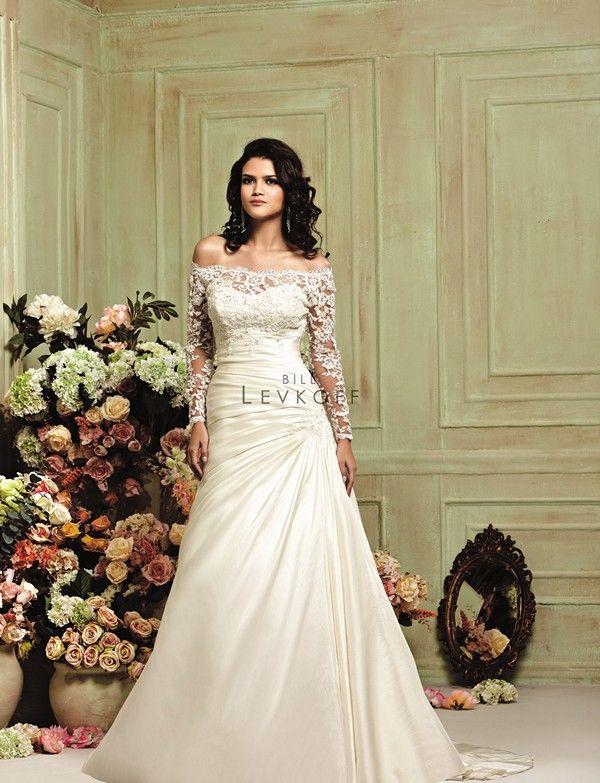 Bill Levkoff 21204 Wedding Dress | wedding | Pinterest | Wedding ...