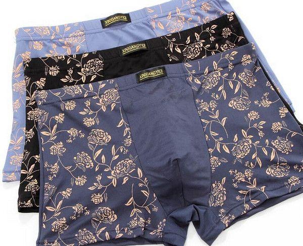 c92d7f493b Wholesale Verano de ropa interior para hombres transpirable de leche seda  de boxer para hombre ropa interior calzoncillos boxer tanga bragas