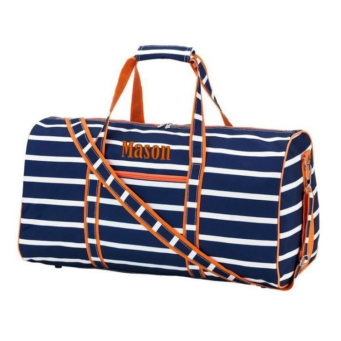 14e1587ecd9 Personalized Large Barrel Duffel Bag Kids Teen Travel - Boho Blast ...