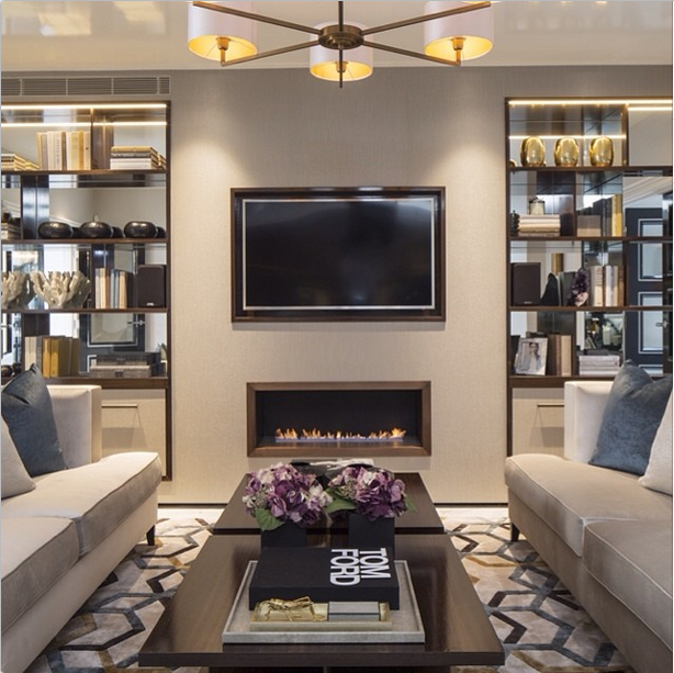 Interior Design Inspiration Photos By Laura Hay Decor Design: Laura Hammet. Mirrored Alcoves With Shelving