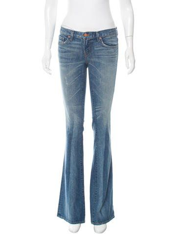 J Brand Babe Bell Bottom Jeans w/ Tags