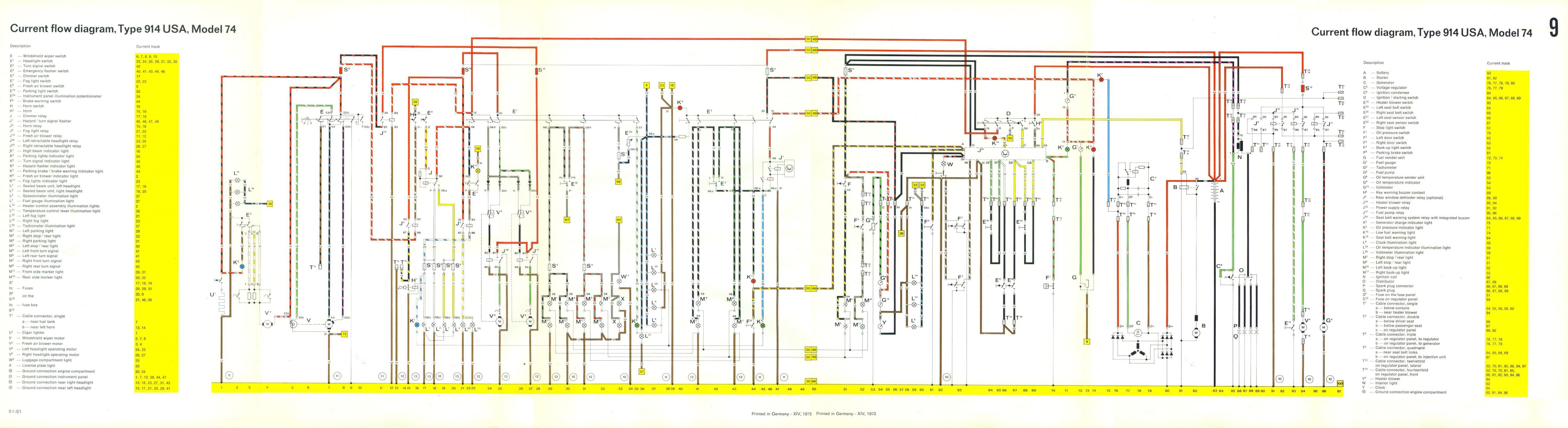 1972 porsche 914 wiring diagram 1996 toyota corolla belt engine library