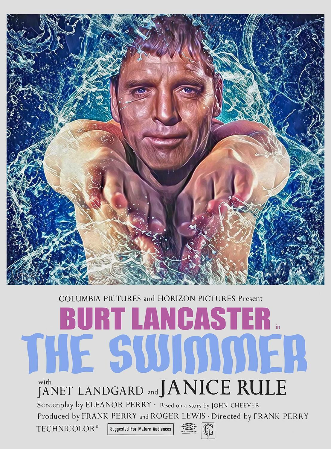 The Swimmer (1968) [1107 x 1500]