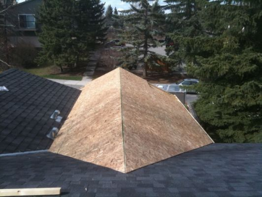 Tying A Patio Roof Into Existing Ideas For The House In
