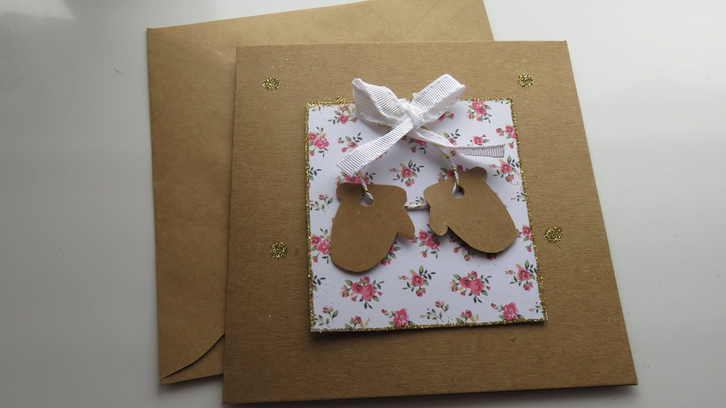 Handmade Christmas Cards - Winter Mittens Cards - Christmas Cards ...