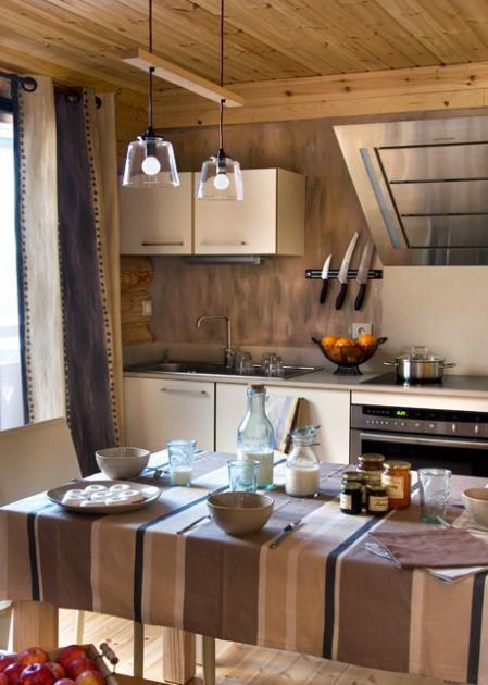 Cozy kitchen. #Honka