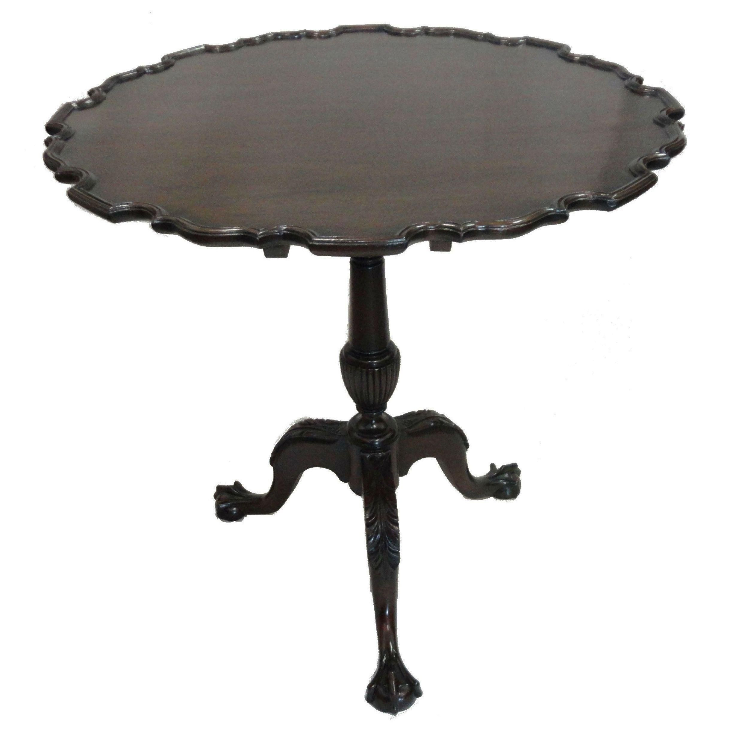 Antique Chippendale Pie Crust Table On Chairish