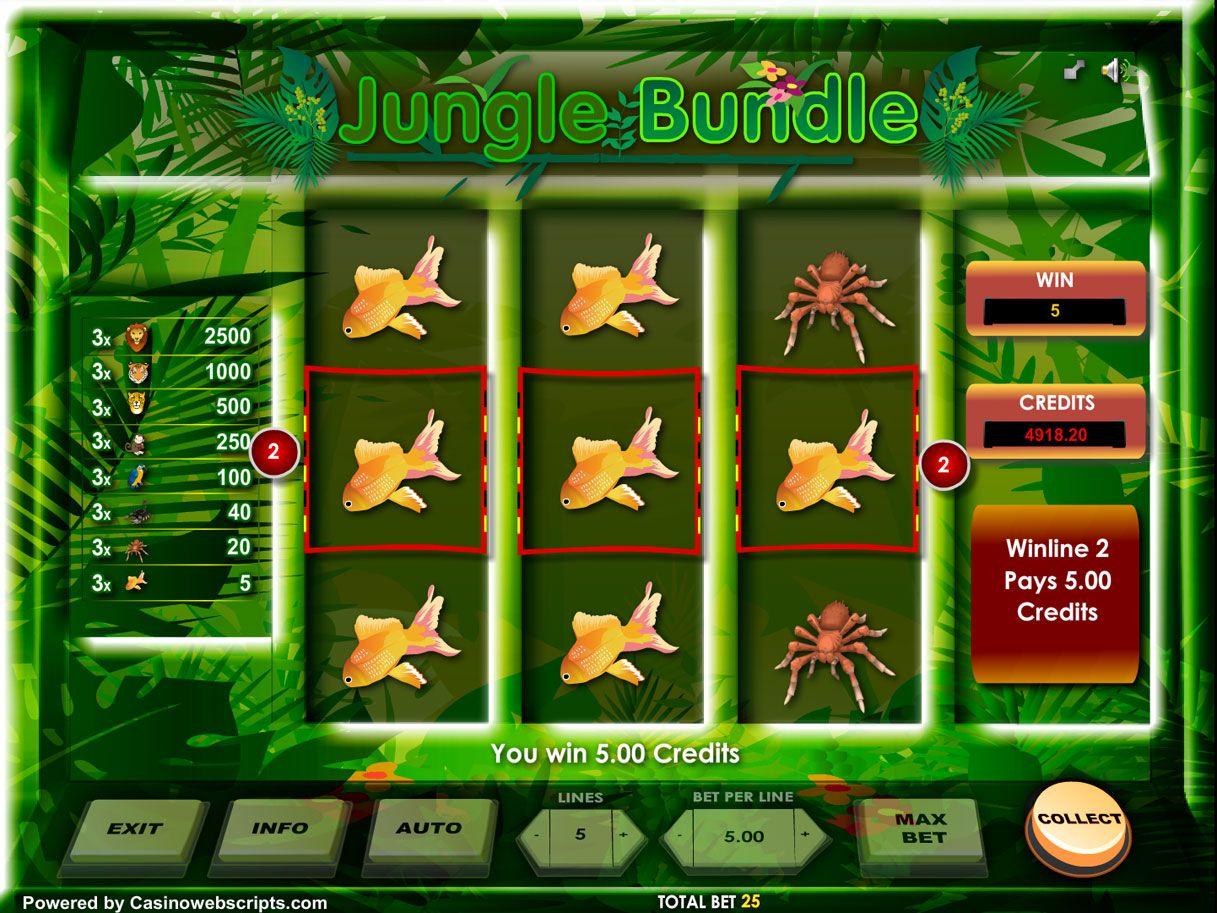 Spiele Jungle Bundle 3RS - Video Slots Online