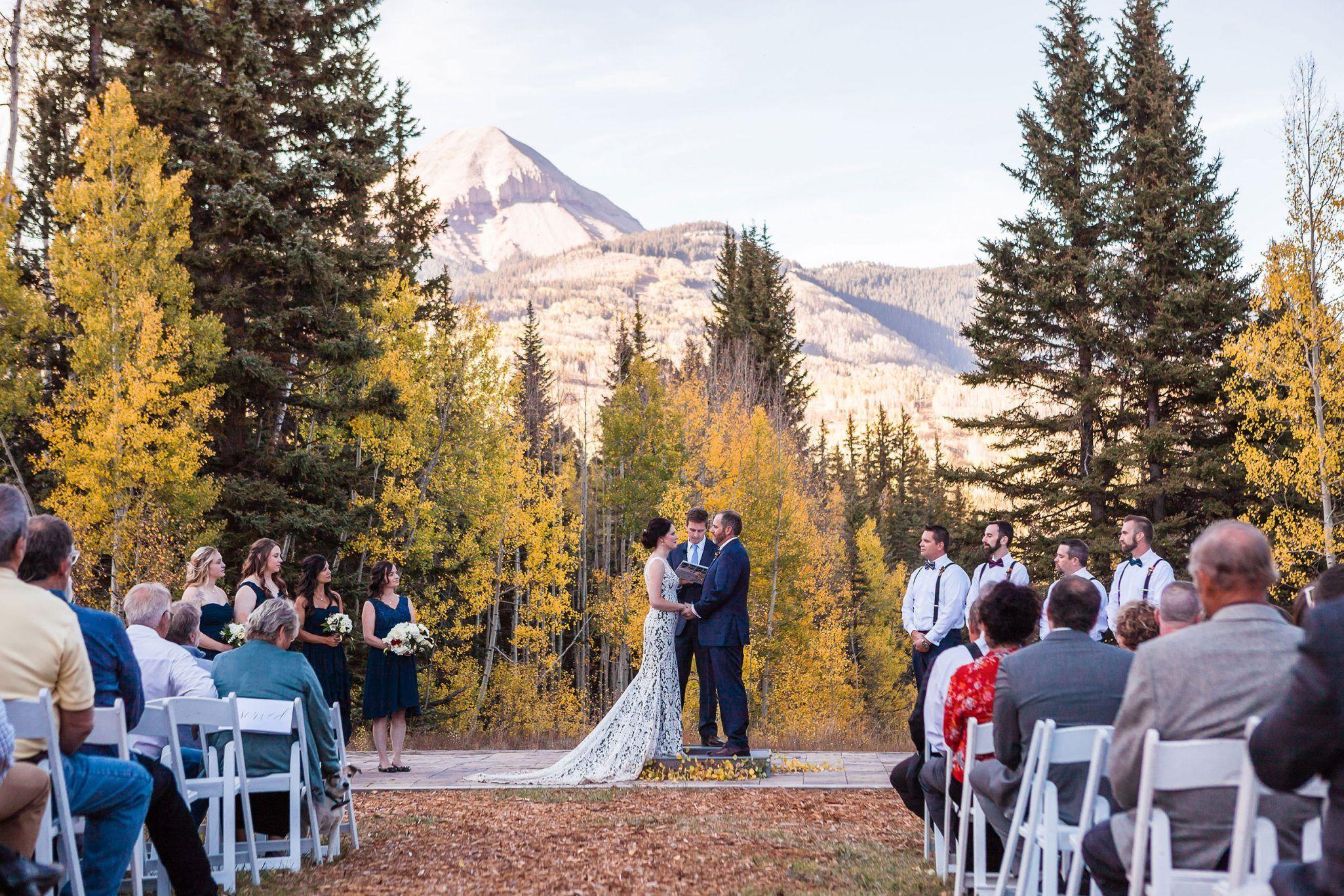A Rustic Fall Wedding At Purg Colorado Mountain Wedding Venues