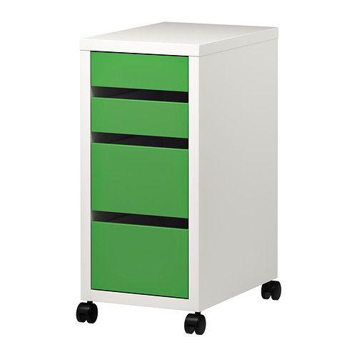 Cassettiera Micke Ikea.Micke Drawer Unit On Castors White Ikea Diy Drawer