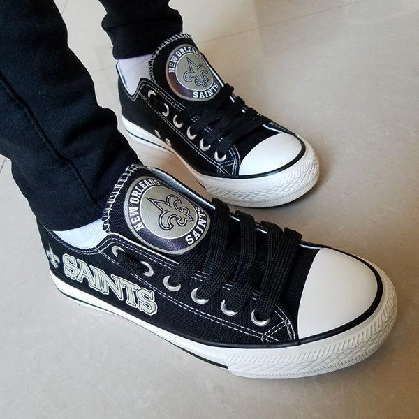 New Orleans Saints Converse Shoes