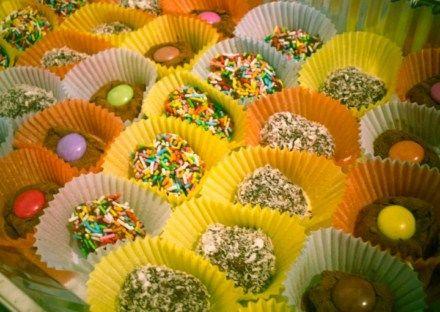 I miei brigadeiros sull' app Ricette dolci #blogdolci.com