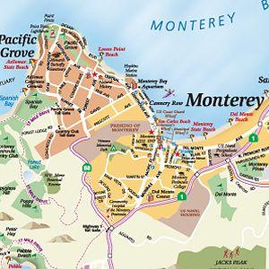 34 an undersized map of the Monterey Peninsula wwwalmascarenas