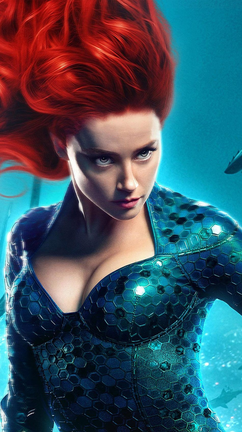Amber Heard As Mera In Aquaman 2018 Movie Wallpapers Superheroes