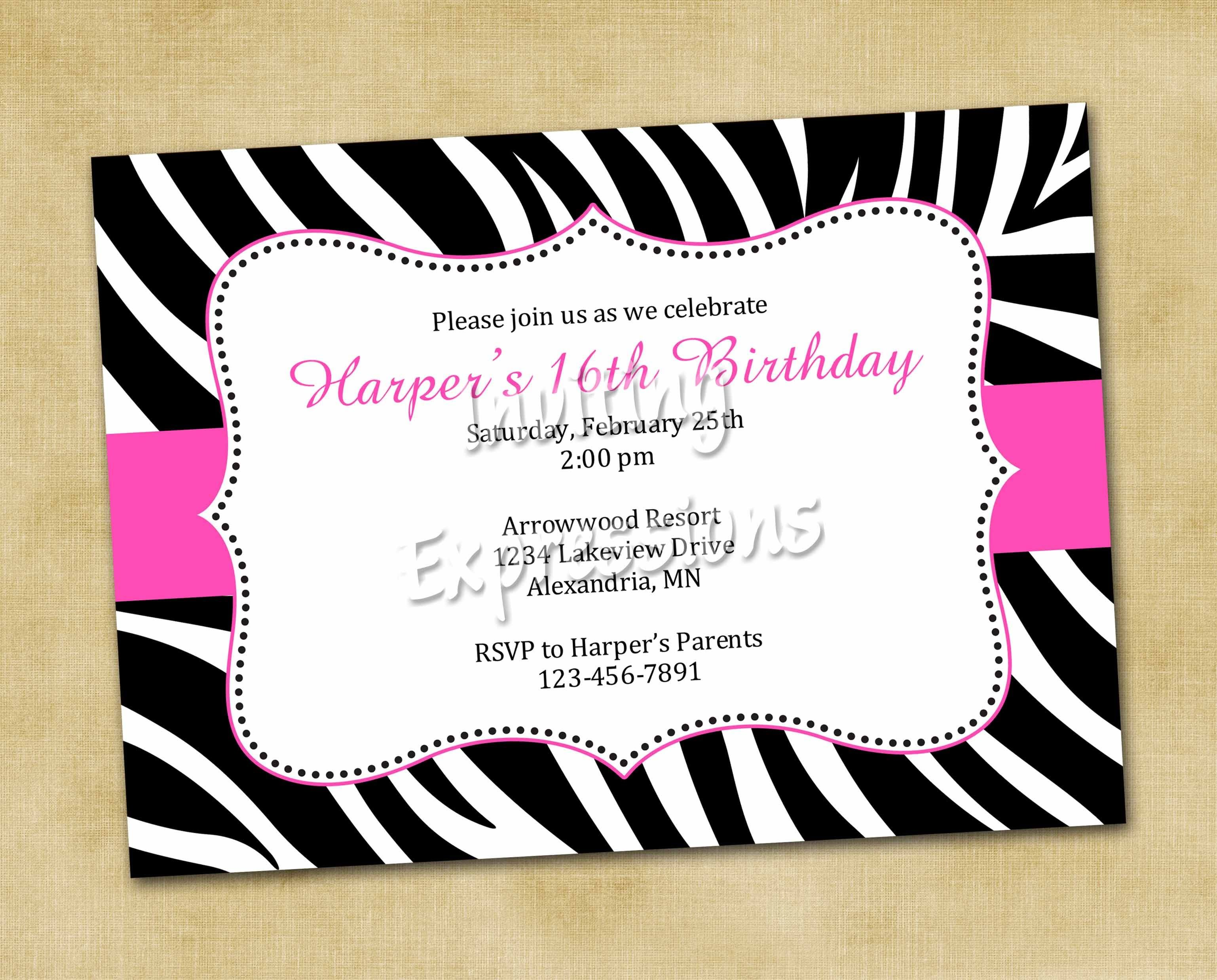 zebra pink 1st birthday supplies ELEGANT ZEBRA PRINT Birthday