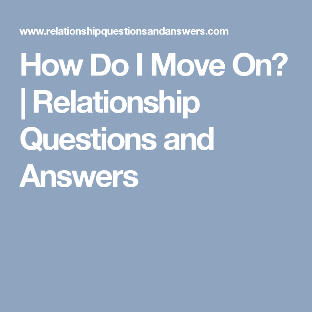 Does Moving Out Help A Troubled Relationship