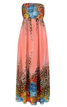 Mix Print Maxi Dress, Plus size, at Dots. No sizes listed however ...