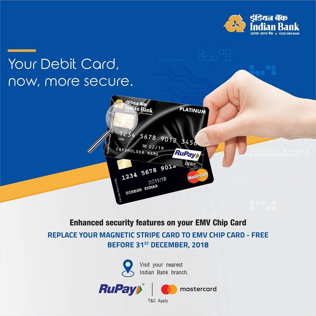 Switch To Emv Chip Card And Secure Your Debit Card Visit The