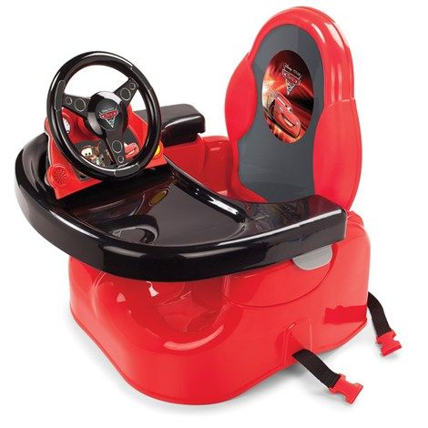Disney Cars Deluxe Lil Racer Booster Seat