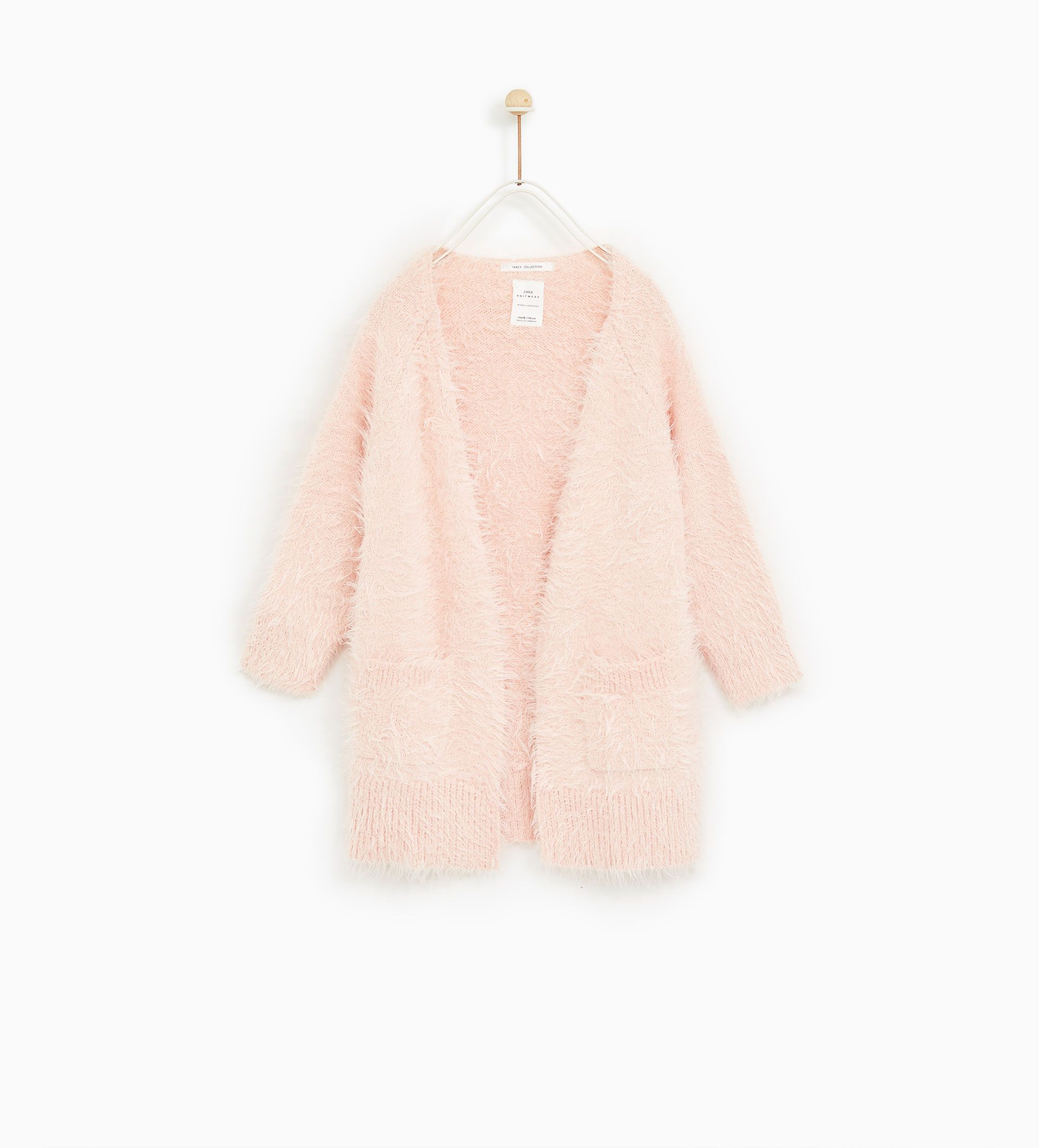 Image 1 Of Feather Knit Cardigan From Zara Baby Girl