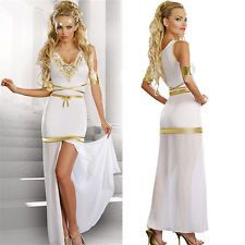 496d95345b2 Sexy Ladies Roman Toga Robe Greek Goddess Fancy Dress Costume ...