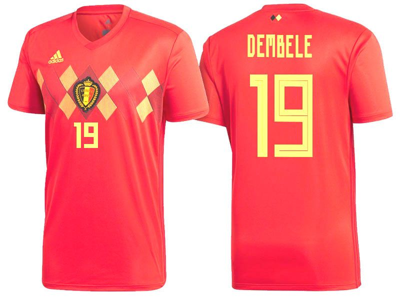 separation shoes 4480a 0afa7 2018 Belgium Soccer Jersey mousa dembele | 2018 World Cup ...
