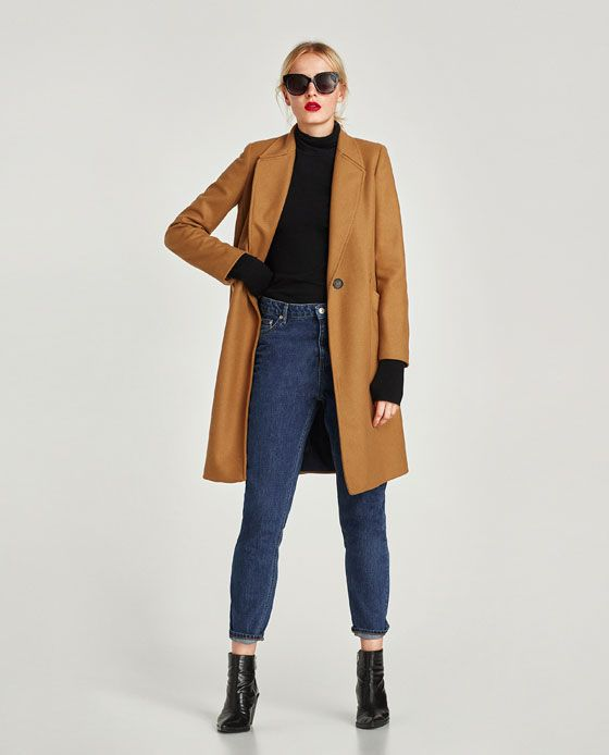 534f0ed13c2 ZARA - WOMAN - MASCULINE WOOL COAT