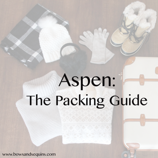 What to Pack: Aspen