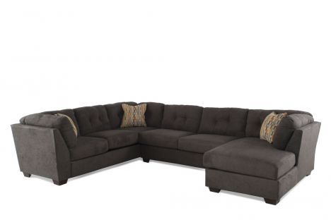 Ash 19700 Sect Ashley Delta City Steel Three Piece Sectional