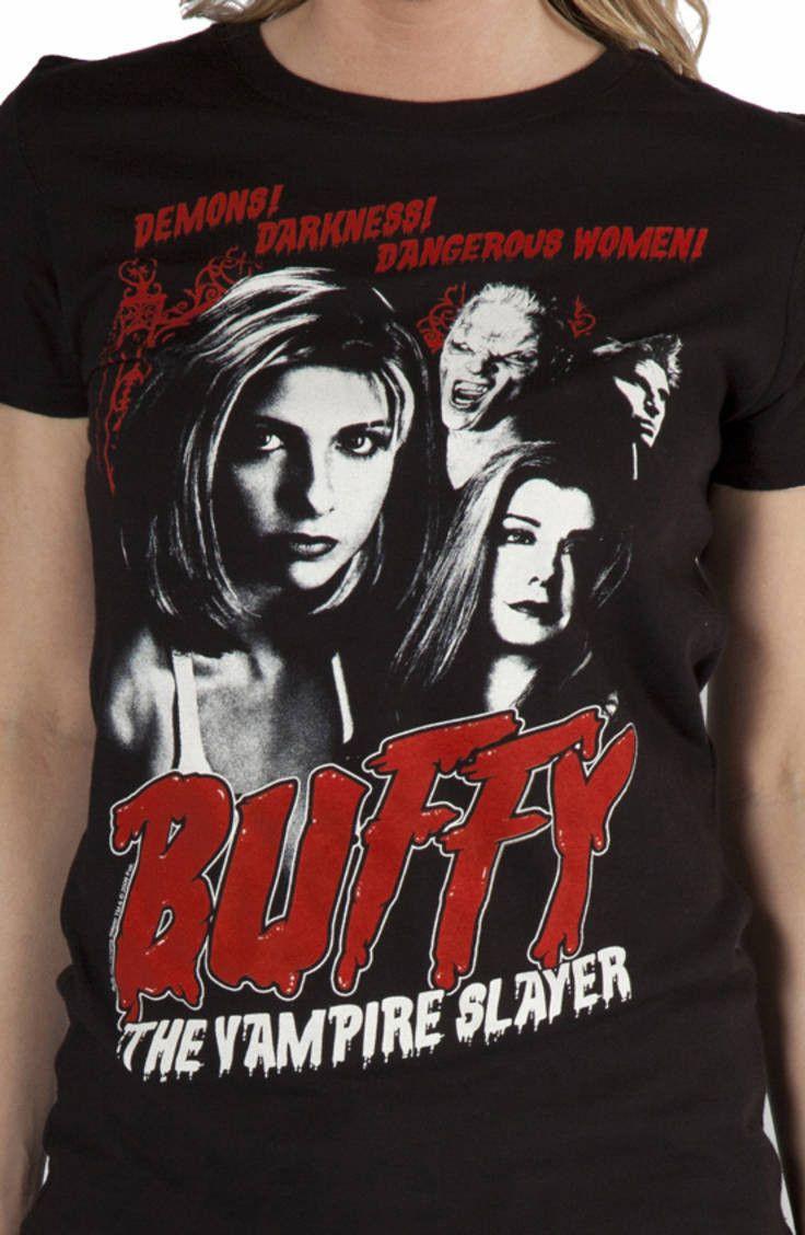 Demons buffy the vampire slayer tshirt buffy the