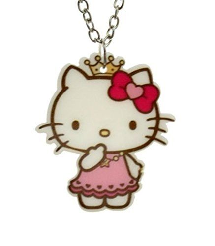 Sweet princess hello kitty necklace pendant fashion jewelry for sweet princess hello kitty necklace pendant fashion jewelry for girls princess price 2199 mozeypictures Image collections