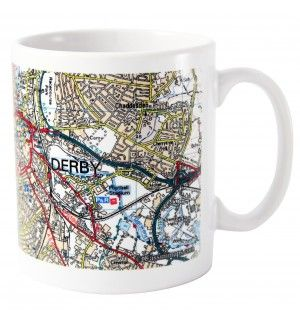 Present Day Edition Map Mug | Mugs | Exclusively Personal