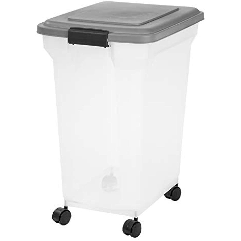 Inspired Essentials 55 Qt Plastic Airtight Pet Food Storage