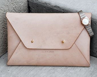 clutch – Etsy - lovely   Day dresses   Leather clutch, Leather, Purses 34e2700ab7