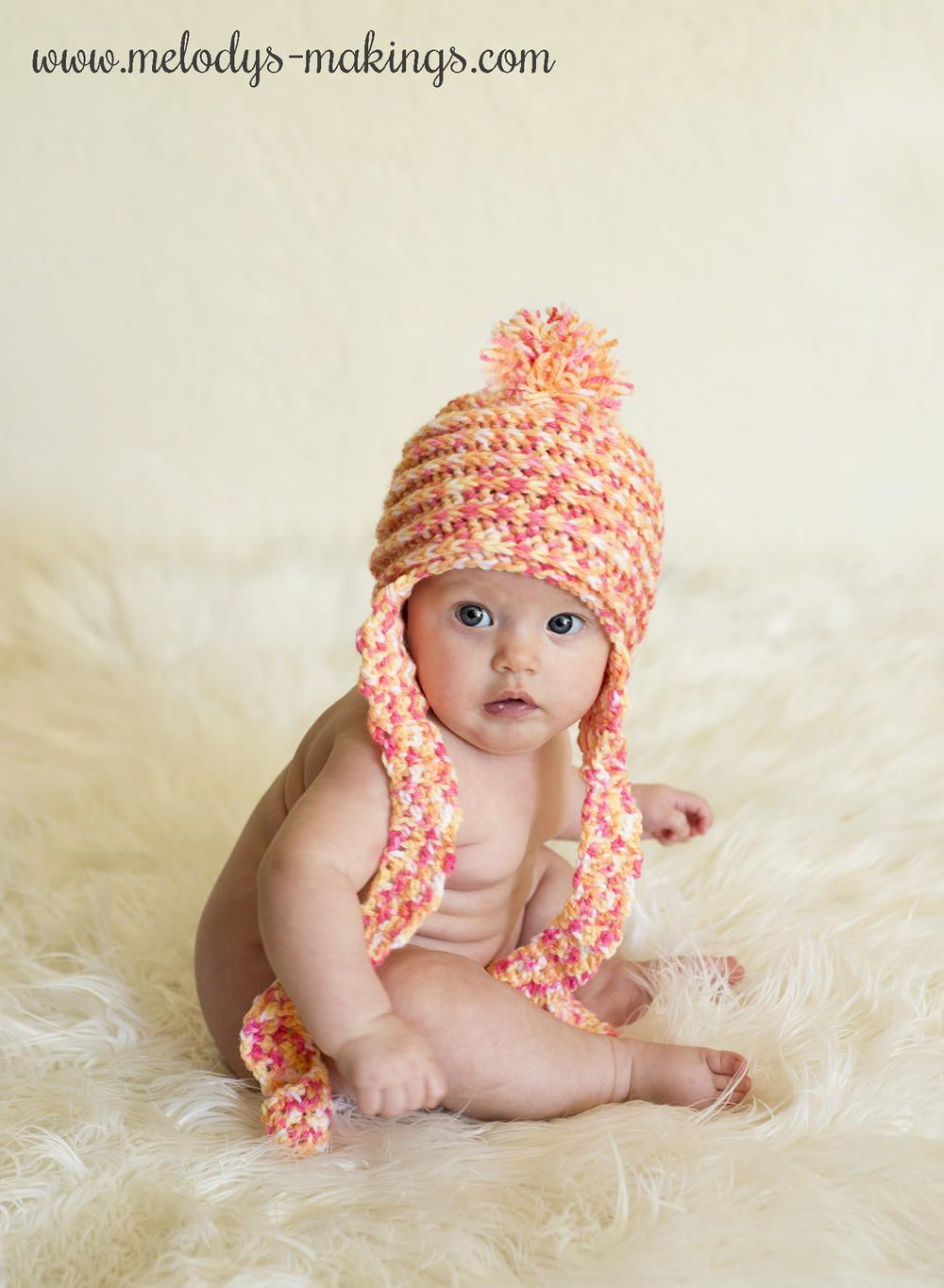 Spins and ridges earflap hat spin crochet baby and crocheted crochet spins and ridges baby earflap hat free pattern bankloansurffo Gallery