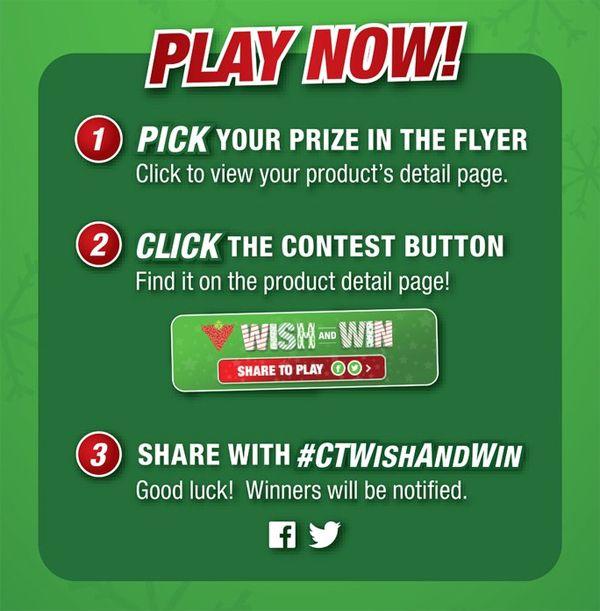 Wish Now and Wish Often ~ #CTWishAndWin Contest & Twitter Party