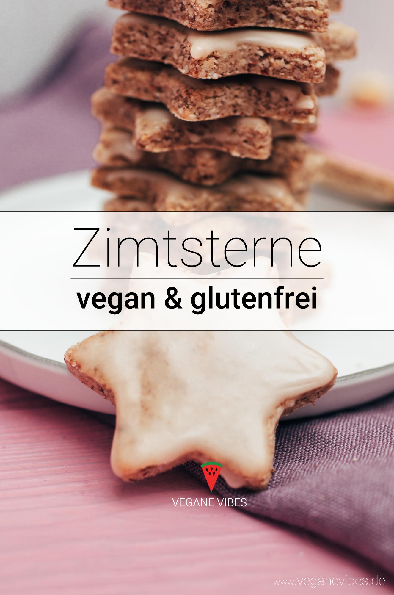 Ricetta con stelle di cannella a 6 ingredienti (vegana, senza glutine)