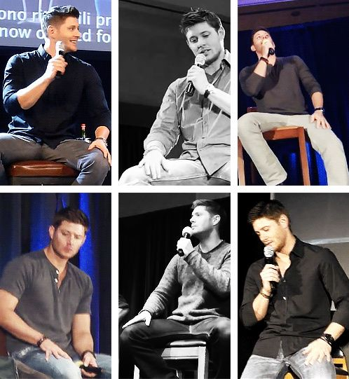 This man... I can't even think straight right now... [gifset] #JensenThighPorn