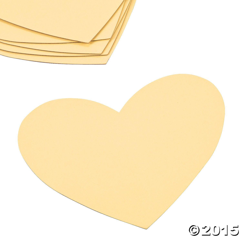 Heart Shaped Sticky Boards