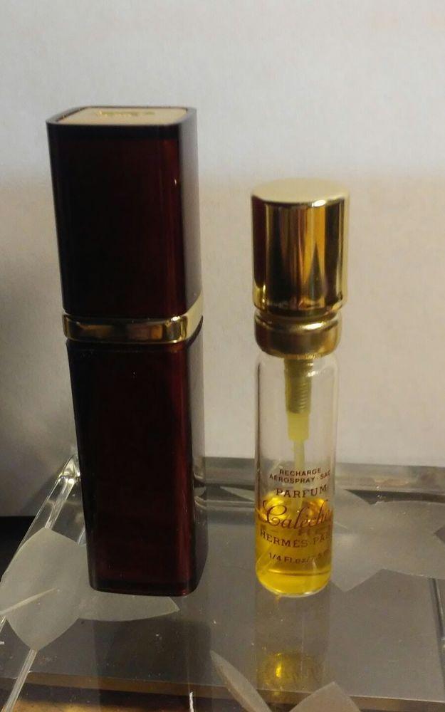 Parfum Atomizer Purse Rare Hermes Travel 14 Caleche Refillable 80's xBhdtQCsr