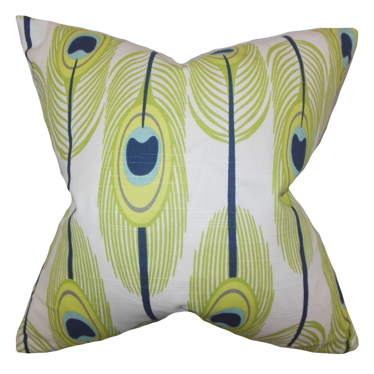 Hedy Feather Feather Filled Throw Pillow