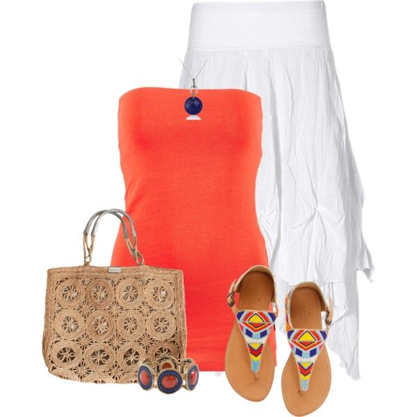 """Summer colors"" by mommygerloff on Polyvore"