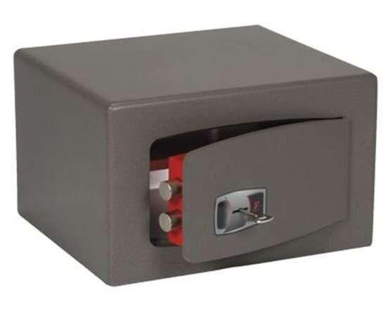 TECHNOMAX Furniture safe, key lock, 9 l, 220x280x200 mm, TECHN …