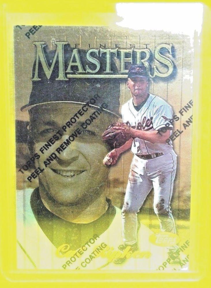 1997 finest 334 cal ripken gold cal baseball cards gold